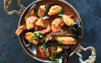Easy Prawn and Mussel Curry