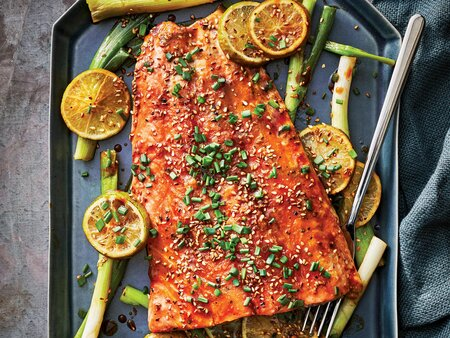 Peppered Salmon Fillet